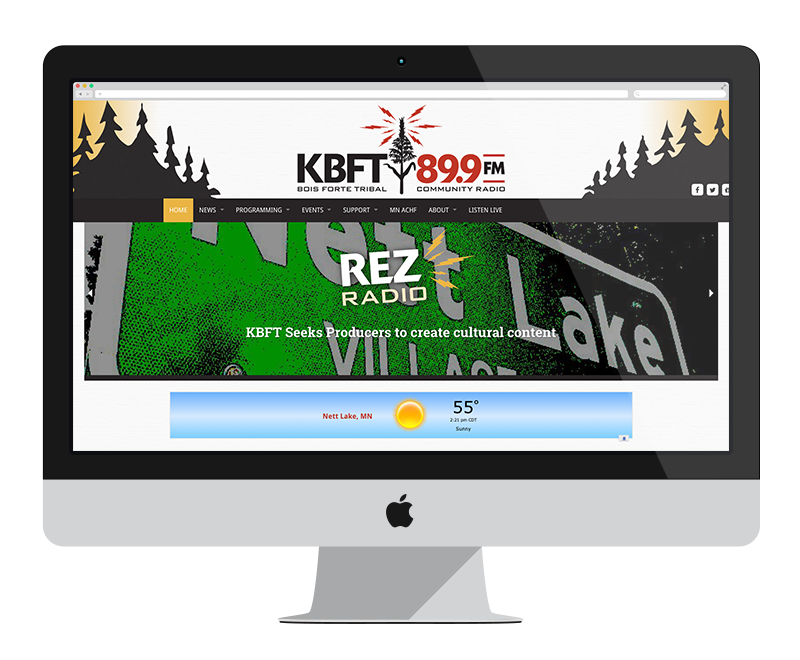 KBFT Radio: Minnesota web design and development - entertainment