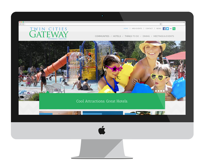 Twin Cities Gateway: Minnesota web design and development - tourism