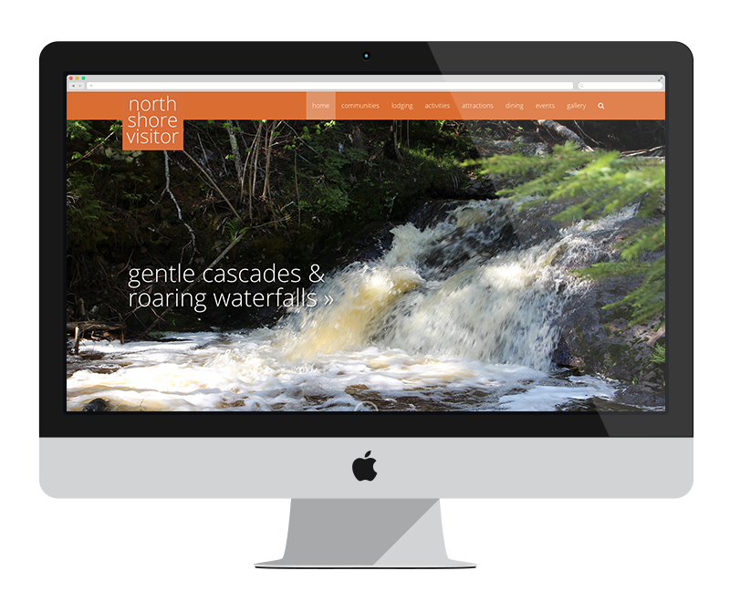 North Shore Visitor: Minnesota web design and development - tourism