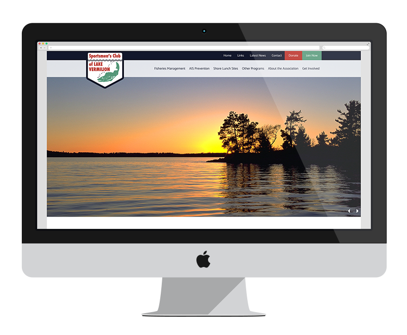 Sportsmen's Club of Lake Vermilion: Minnesota web design and development: Tourism