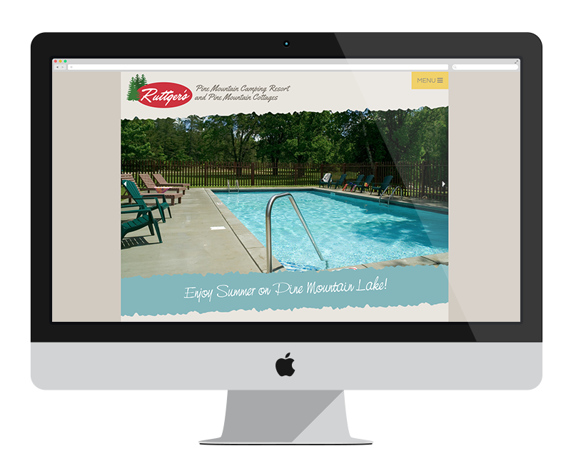 Ruttgers Pine Mountain Camping Resort: Minnesota web design and development: Tourism
