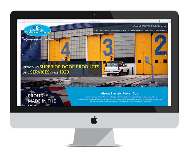 Electric Power Door: Minnesota web design and development: Other